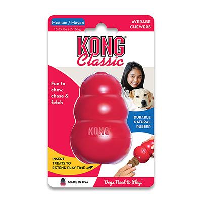 Kong Classic - Medium | Petcure.nl