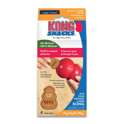 Kong Snacks Bacon & Cheese - Large | Petcure.nl