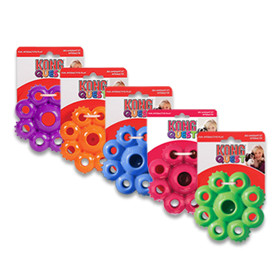 Kong Quest Star Pods - Small (assorti geleverd) | Petcure.nl