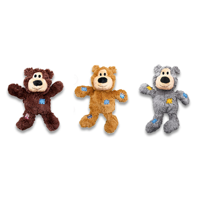 Kong WildKnots Bears - X Small (vorsortiert geleifert)