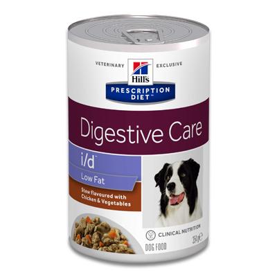 Hill's Prescription Diet i/d Low Fat Canine Ragout mit Huhn - 12 x 354 g