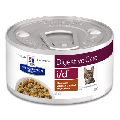 Hill's Prescription Diet i/d Feline Ragout mit Huhn - 24 x 82 g