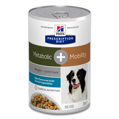 Hill's Metabolic+Mobility Canine Ragout mit Thunfisch - 12 x 354 g