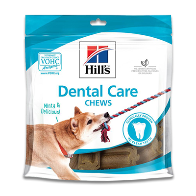 Hill's Prescription Diet Dental Care Chews Dog Treats - 6 x 170 g