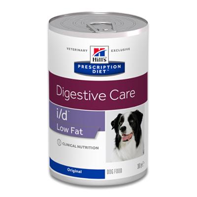 Hill's Prescription Diet Canine i/d Low Fat - 12 x 360 g Dosen