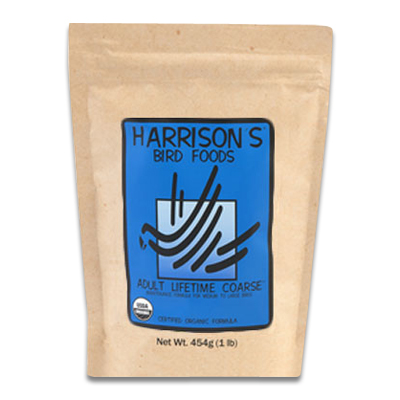 Harrison's Bird Life Time Coarse - 1 pnd | Petcure.nl