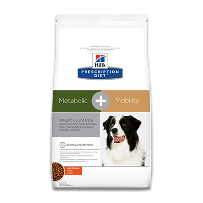 Hill's Prescription Diet Canine Metabolic + Mobility -  4 kg
