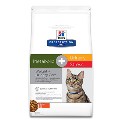 Hill's Feline Metabolic + Urinary Stress -  4 kg | Petcure.nl