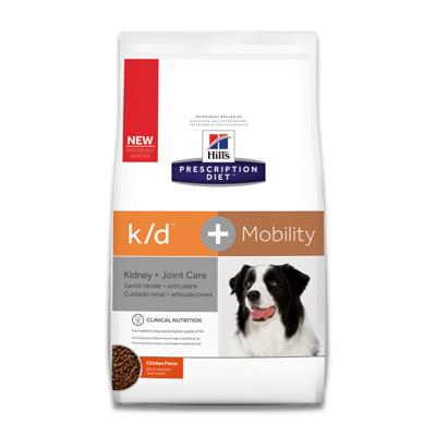 Hill's Prescription Diet Canine k/d + Mobility (j/d) -  5 kg