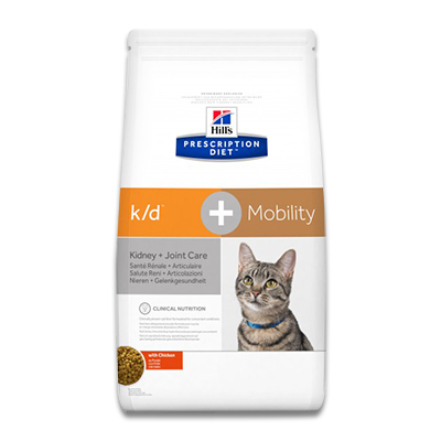 Hill's Prescription Diet Feline k/d + Mobility - 2 kg