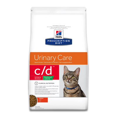 Hill's Feline c/d Urinary Stress Reduced Calorie  - 1.5 kg (MHD 09-19)