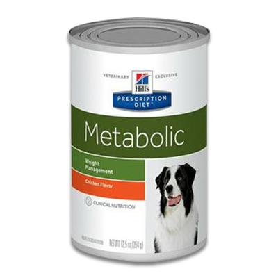 Hill's Prescription Diet Canine Metabolic - 12 x 370 g Blik | Petcure.nl