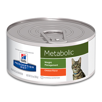 Hill's Prescription Diet Feline Metabolic - 24 x 156 g Dosen (MHD 10-19)