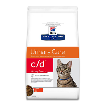 Hill's Prescription Diet Feline c/d Urinary Stress  - 8 kg