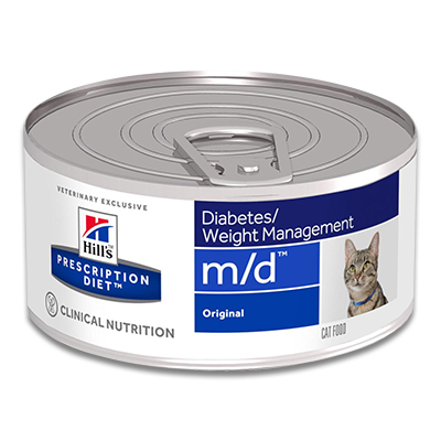 Hill's Feline m/d Minced (Original) - 24 x 156g Blik