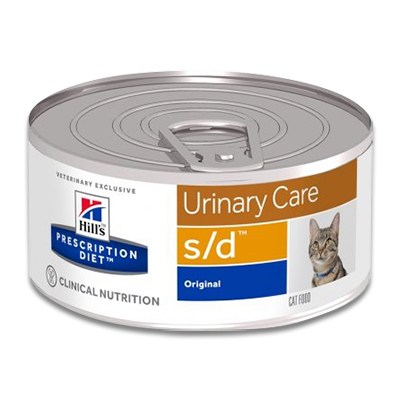 Hill's Prescription Diet Feline s/d - 24 x 156 g Blik | Petcure.nl