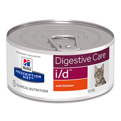 Hill's Prescription Diet Feline i/d Minced - 24 x 156 g Blik | Petcure.nl