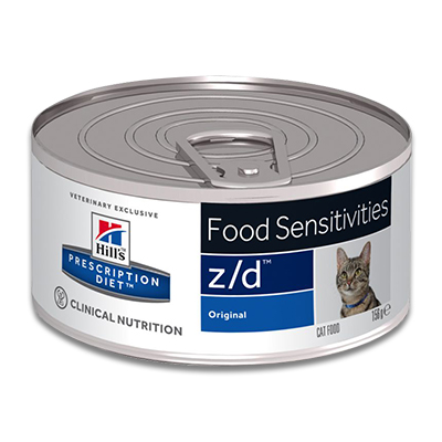 Hill's Prescription Diet Feline z/d (Original) - 24 x 156 g Blik | Petcure.nl