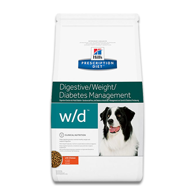 Hill's Prescription Diet Canine w/d -  4 kg