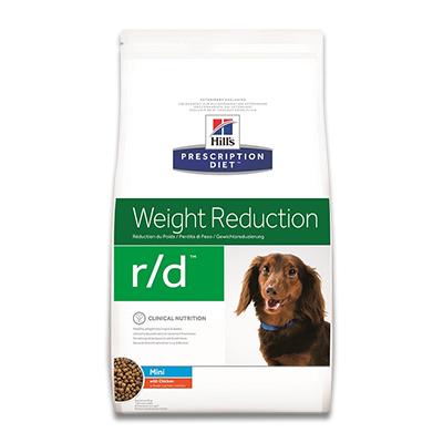 Hill's Prescription Diet Canine r/d  Mini - 6 kg | Petcure.nl