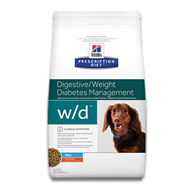 Hill's Prescription Diet Canine w/d  Mini - 6 kg