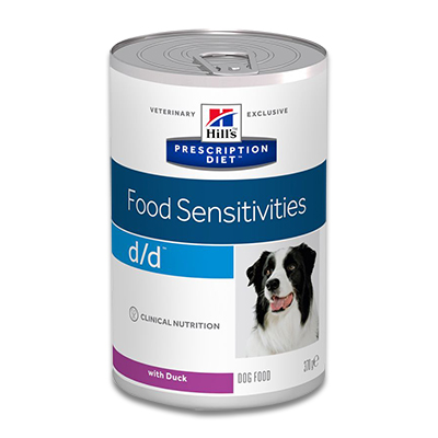 Hill's Prescription Diet Canine d/d (Duck)  - 12 x 370g Dosen