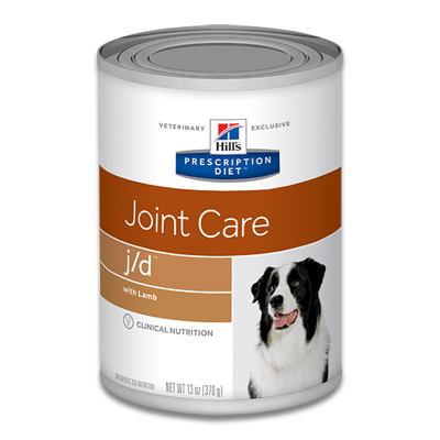 Hill's Prescription Diet Canine j/d  Joint Care - 12 x 370 g Dosen
