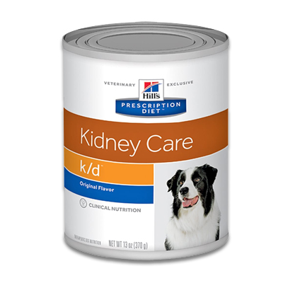Hill's Prescription Diet Canine k/d - 12 x 370g Dosen