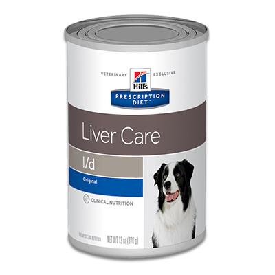 Hill's Prescription Diet Canine l/d Liver Care - 12 x 370 g Blik