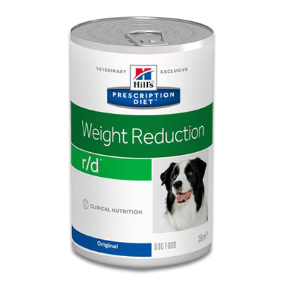 Hill's Prescription Diet Canine r/d - 12 x 350 g Blik | Petcure.nl