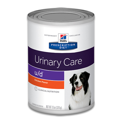 Hill's Prescription Diet Canine u/d - 12 x 370 g Dosen