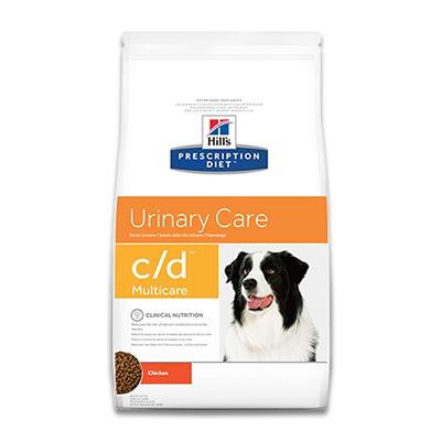 Hill's Prescription Diet Canine c/d (Multicare) -  2 kg | Petcure.nl