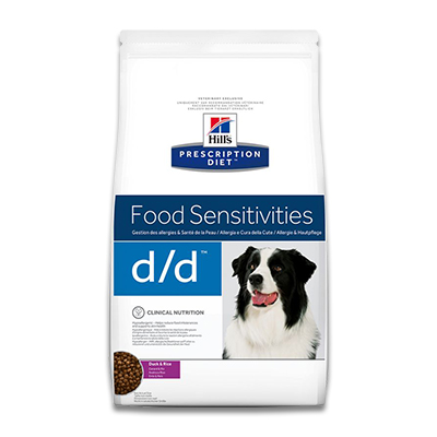Hill's Prescription Diet Canine d/d  (Duck/Rice) -  5 kg (MHD FEB19)