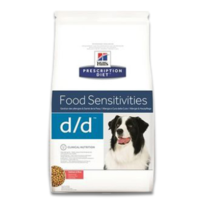 Hill's Prescription Diet Canine d/d  (Salmon/Rice) - 12 kg