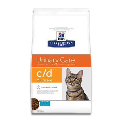 Hill's Prescription Diet Feline c/d (Ocean Fish) - 1.5 kg (MHD 08/19)