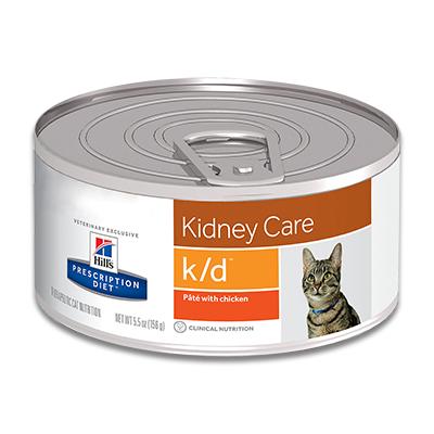 Hill's Feline k/d Kidney Care (Kip) - 24 x 156 g Dosen
