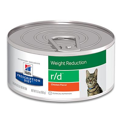 Hill's Prescription Diet Feline r/d (Original) - 24 x 156 g Dosen