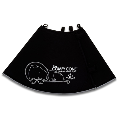 Comfy Cone XS - Zwart | Petcure.nl