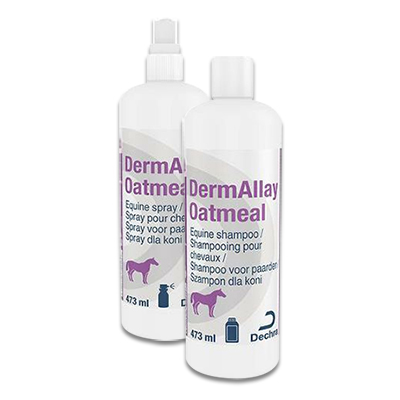 DermAllay Equine Oatmeal Shampoo en Conditioner | Petcure.nl