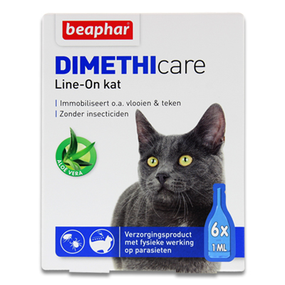 Beaphar DIMETHIcare Line-on Katze