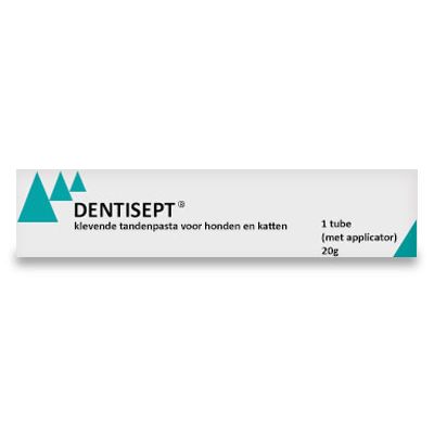 Dentisept Tandpasta | Petcure.nl