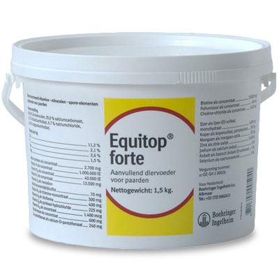 Equitop Forte | Petcure.nl