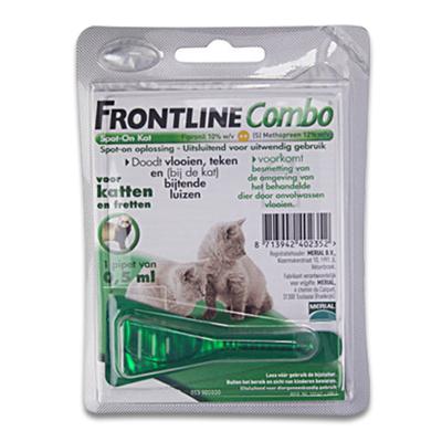 Frontline Combo Kitten, Kat en Fret