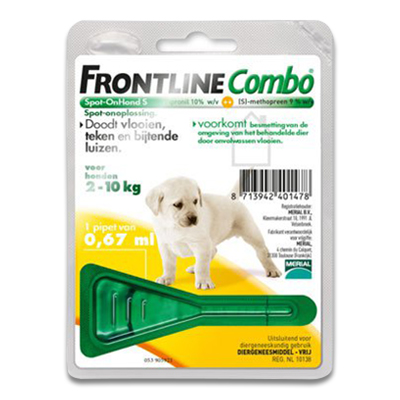 Frontline Combo Puppy | Petcure.nl