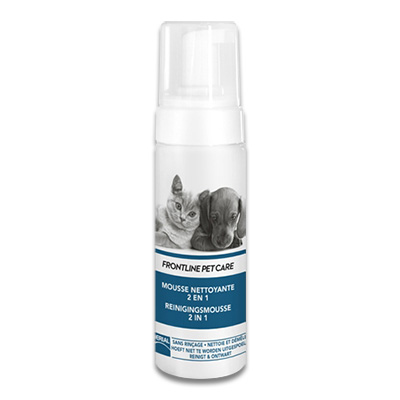 Frontline Pet Care Reinigingsmousse 2 in 1
