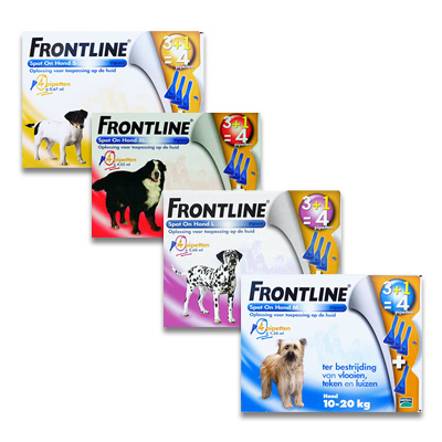 Frontline Spot On Hond | Petcure.nl