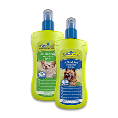 FURminator Waterless Spray: deOdorizing/deShedding