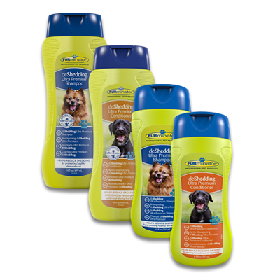 FURminator deShedding Ultra Premium Shampoo/Conditioner | Petcure.nl