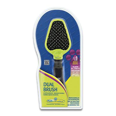 FURminator Dubbelzijdige Borstel (Dual Brush)   Petcure.nl