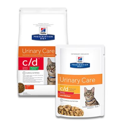 Hill's Prescription Diet Feline c/d Urinary Stress Reduced Calorie | Petcure.nl